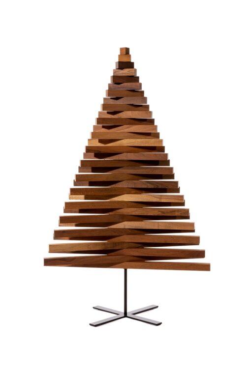 hout kerstboom