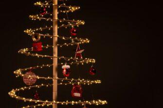 houten kerstboom spira