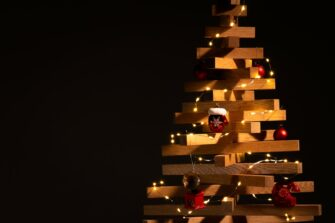 houten kerstboom yelka