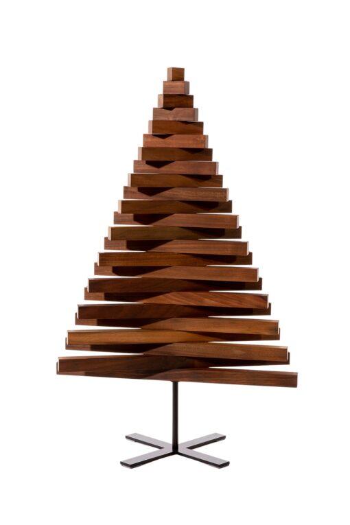 houten kerstboompjes